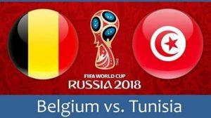 Nonton Live Piala Dunia Belgia Vs Tunisia