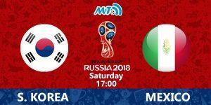Nonton Siaran Langsung Piala Dunia Mexico vs Korea Selatan