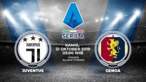 Hasil Pertandingan Juventus VS Genoa