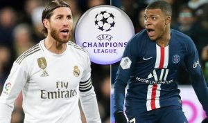 Liga Champions Madrid vs PSG