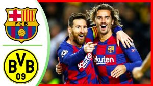 Liga Champions Barcelona vs Borussia Dortmund