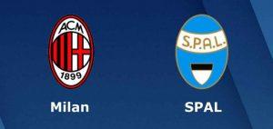 Hasil Pertandingan AC Milan VS SPAL