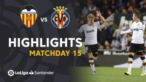 Hasil La Liga Valencia Vs Villarreal