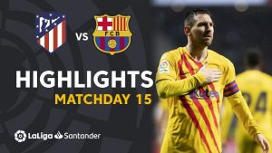 Hasil La Liga Atletico Madrid Vs Barcelona