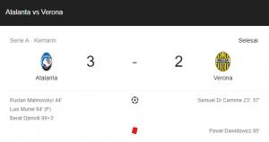 hasil atalanta verona 3-2