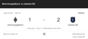 hasil Mönchengladbach istanbul 1-2