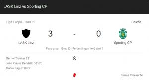 hasil lask vs sporting 3-0