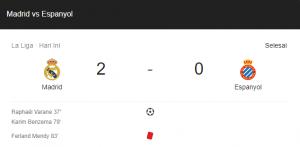 hasil madrid espanyol 2-0