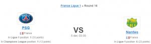 ligue 1 PSG nantes