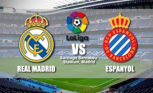 La Liga Real Madrid vs Espanyol